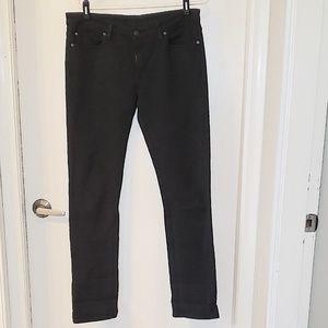 Denim & Supply Black Mid Rise Jeans, Sz 31